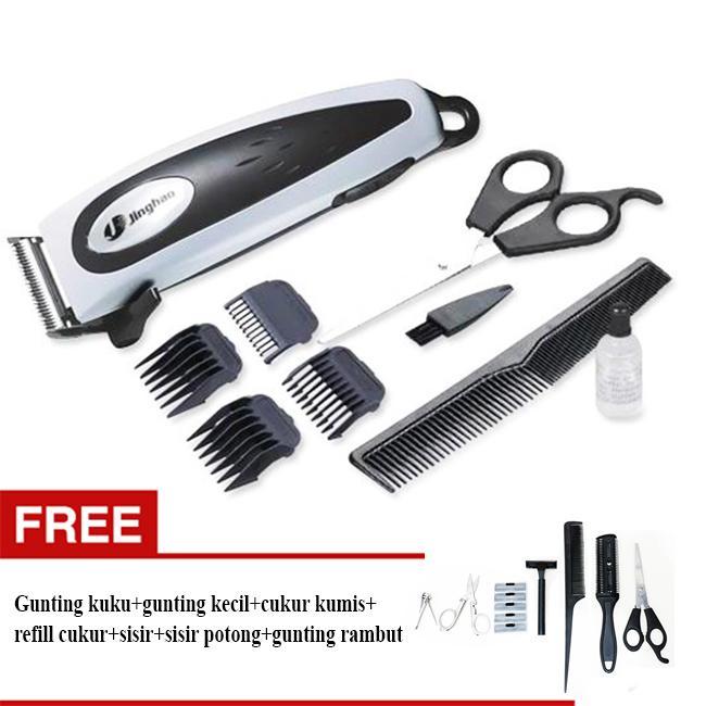 SALE TERMURAH alat cukur Jinghao 4609 Profesional Elektrik Cliper  Alat  Cukur Rambut - Hair Clipper 4610a30179