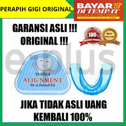 Alat Perapi Gigi / Perapih Gigi / Teeth Retainer Original Usa / Orthodentic Retainer Teeth Trainer Allignment / Behel Gigi Original By E Plus.
