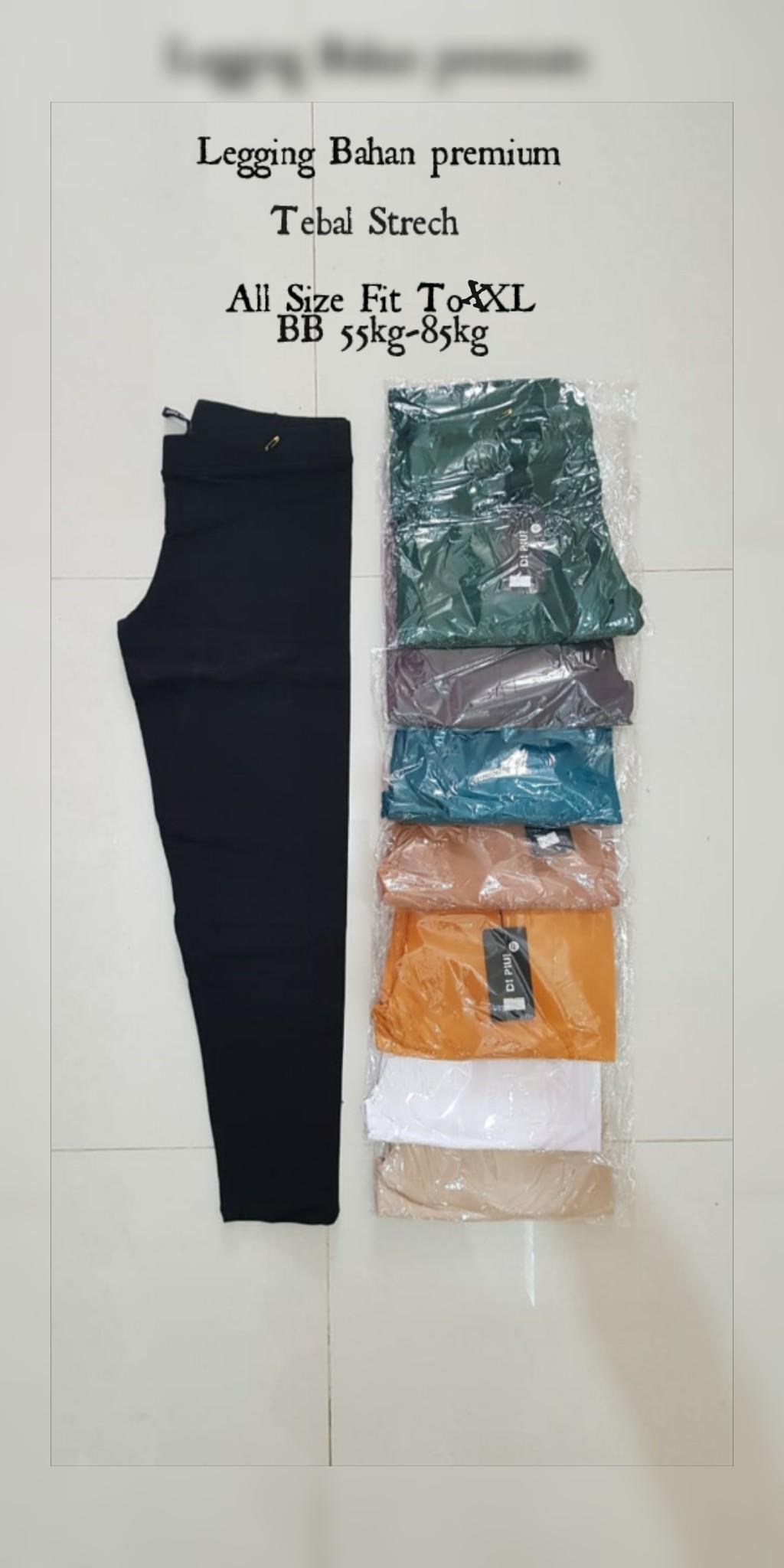 Celana Legging Panjang Wanita Bahan Tebal Lazada Indonesia