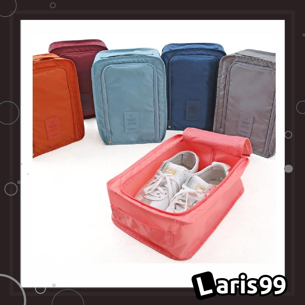 Laris99 Shp Tas Sepatu One Shoes / Organizer Pouch Shoes / Monopoly Shoes Pouch Travel By