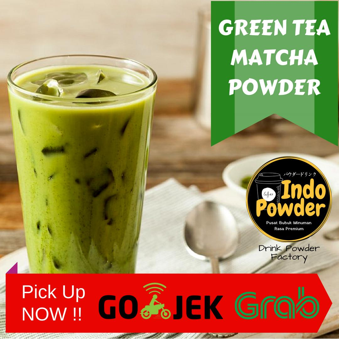 Bubuk Green Tea Matcha 1 Kg / Green Tea Powder 1 Kg / Matcha Powder 1 Kg / Bubuk Green Tea 1 Kg By Indopowder.