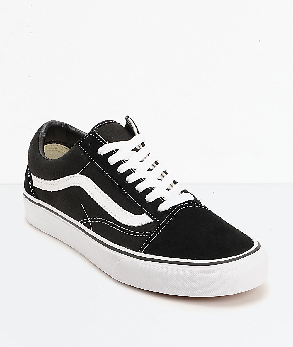 old school vans skate shoes
