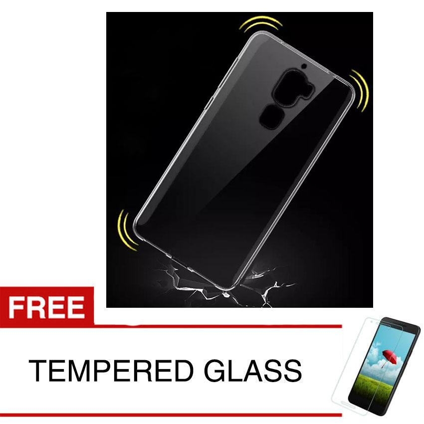 ShockProof Case For Coolpad Cool Dual / R116 - 5.5 inch - Clear - Gratis Tempered Glass