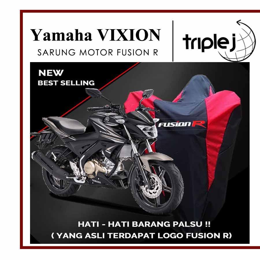 Cover Motor / Sarung Motor Warna Yamaha VIXION Waterproof FUSION R