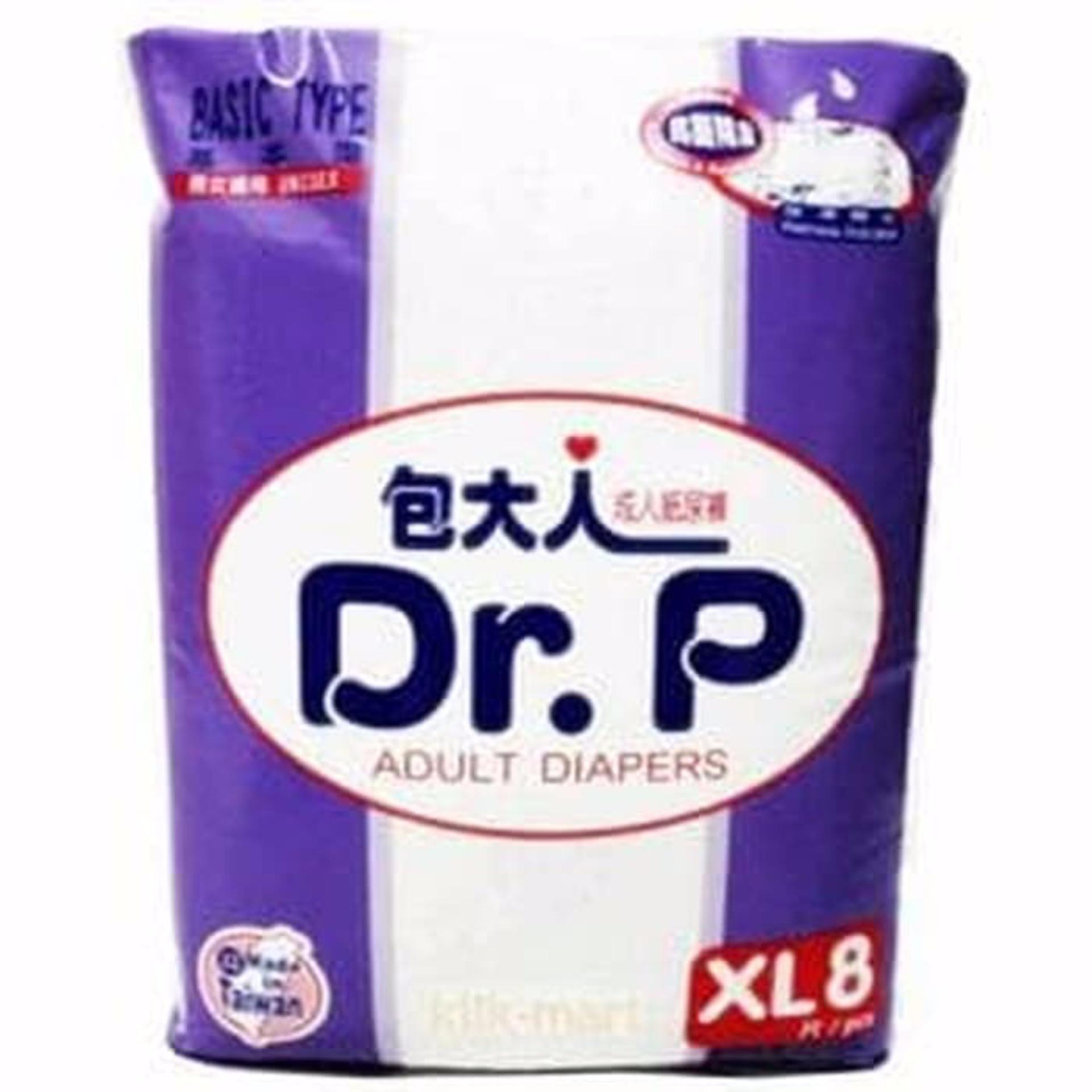 P Adult Diapers, Popok Dewasa, Popok Orang Tua, Popok Orang Sakit. IDR 70,000 IDR70000. View Detail. Dr.p XL8 Basic Type