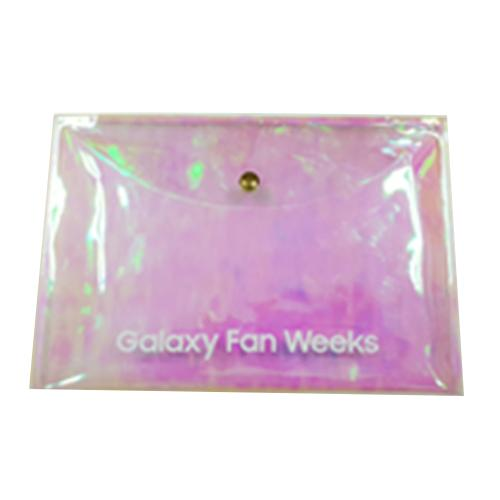 [NOT FOR SALE] 2018 Pouch Plastic Galaxy Fan Weeks