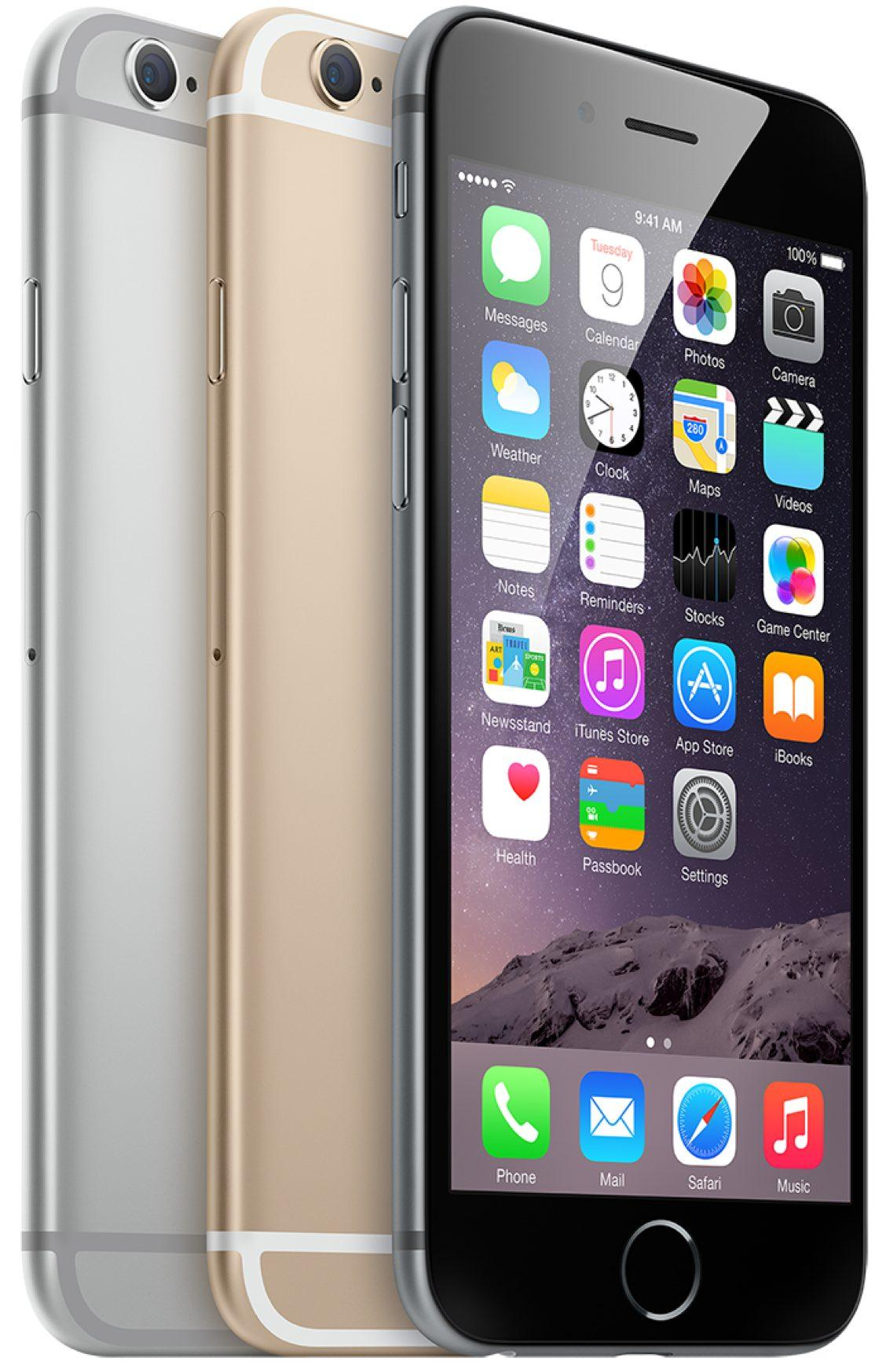 Apple Iphone 6 16 32 64 Gb (Gold, Grey & Silver) - Garansi 1 tahun