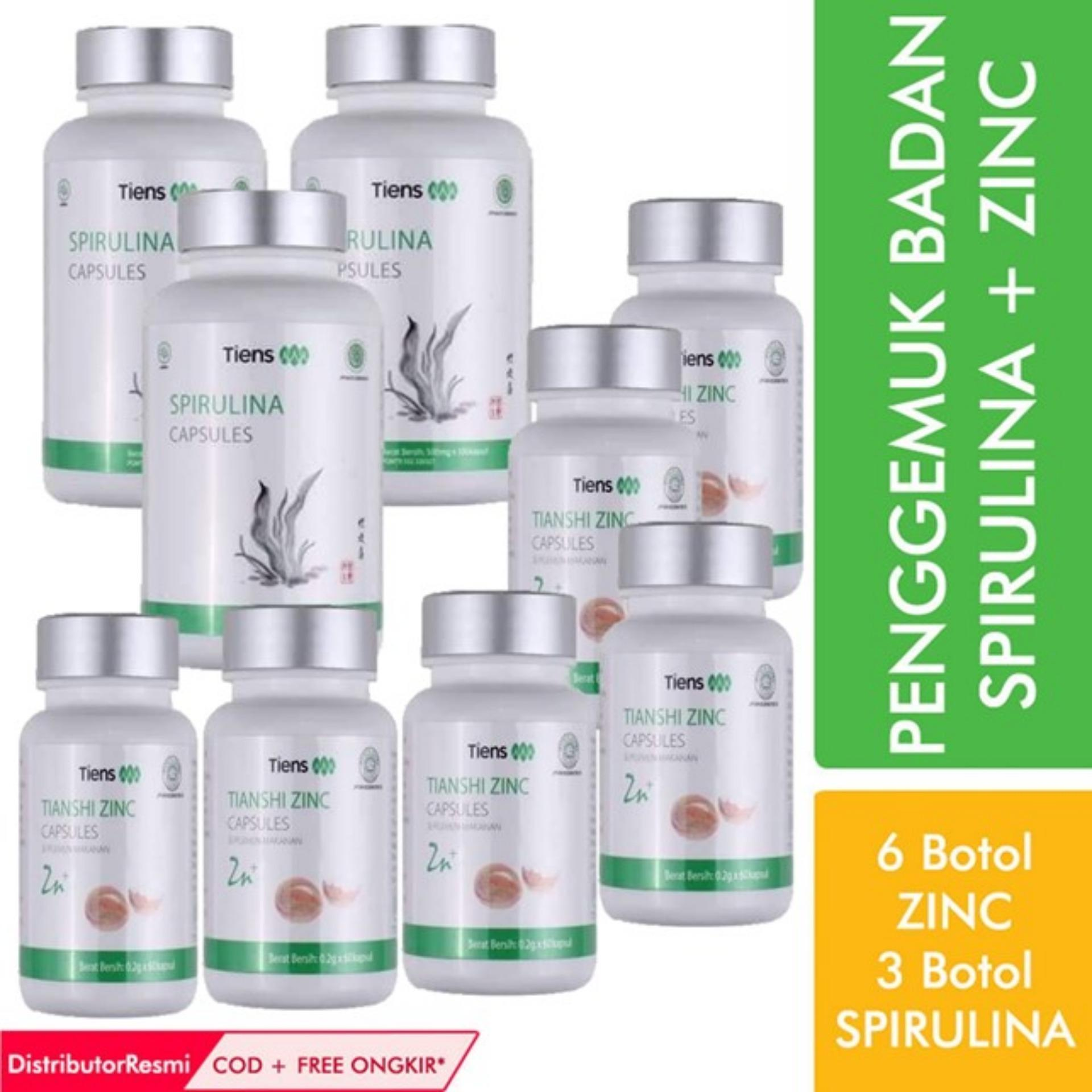 Terjual Paket Lengkap Herbal Peninggi Badan Tiens KASKUS Source · Penggemuk Badan Herbal Tiens Paket Platinum 6 Zinc 3 Spirulina Free Gift by TS1