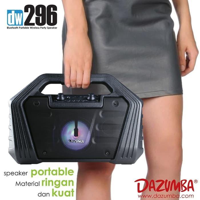 Speaker Aktif Dazumba Portable DW296 bluetooth Speaker Karaoke