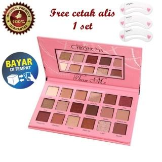 Eyeshadow Palette BEAUTY CREATIONS TEASE ME + Gratis Cetak Alis thumbnail