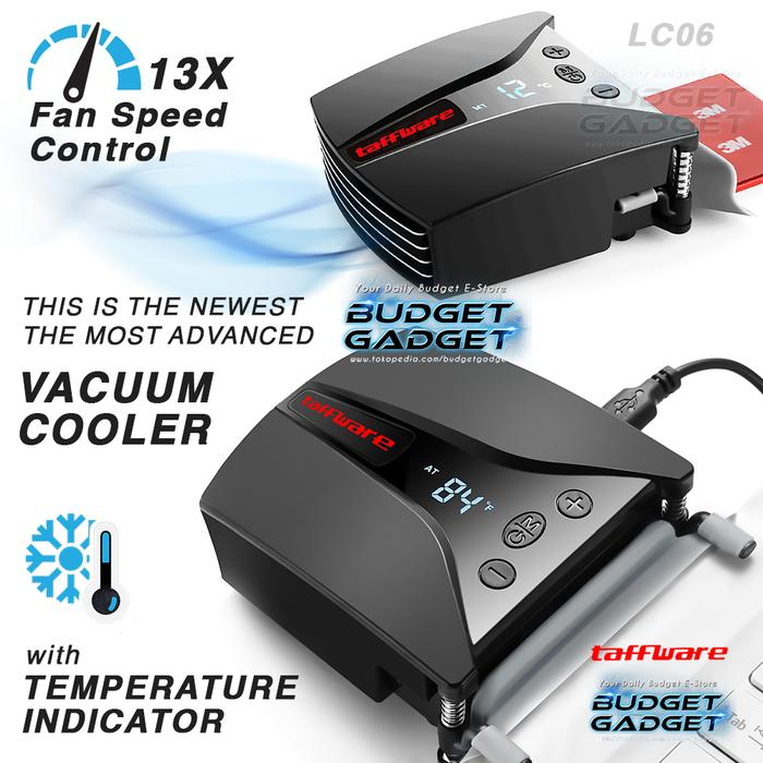 Taffware Universal Laptop Vacuum Cooler Temperature Control - Lc06 By Prilla Shop.