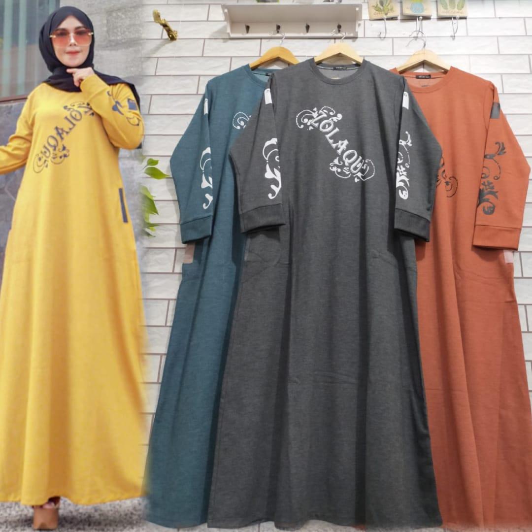 Gamis Zolaqu Ori Membeli Jualan Online Baju Muslim Jumpsuit Dengan Harga Murah Lazada Indonesia