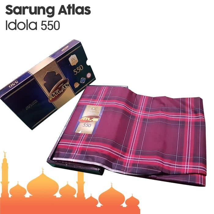 PROMO - GROSIR SARUNG ATLAS IDOLA 550 1 DUS (10 PCS) // DISTRIBUTOR SARUNG / SARUNG DEWASA / SARUNG MURAH / SARUNG TENUN / SARUNG SERAGAM / SONGKET