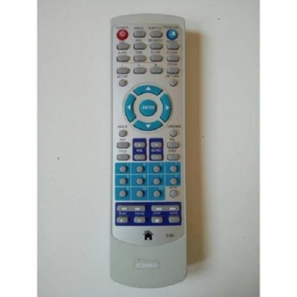 Ichiko Remote DVD player - Putih Free Batterai Packing Bubble Warp