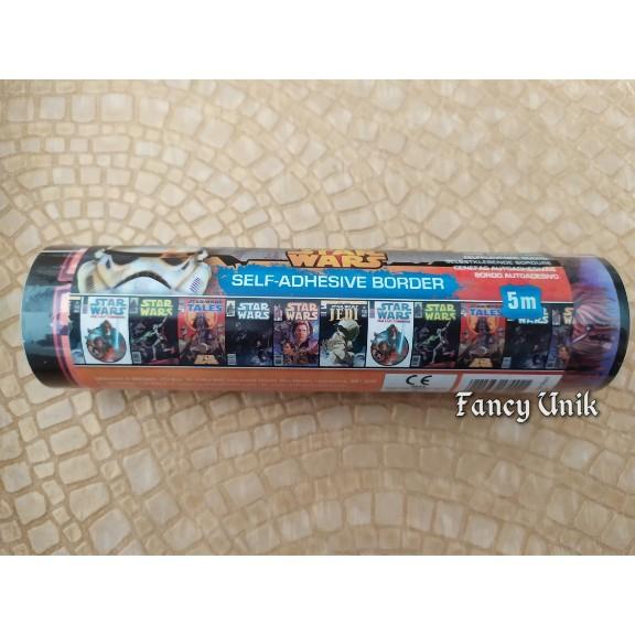 Bisa Cod Border Wallpaper Sticker Roll Karakter Starwars Dan Lain Lain Starwars Diskon Lazada Indonesia