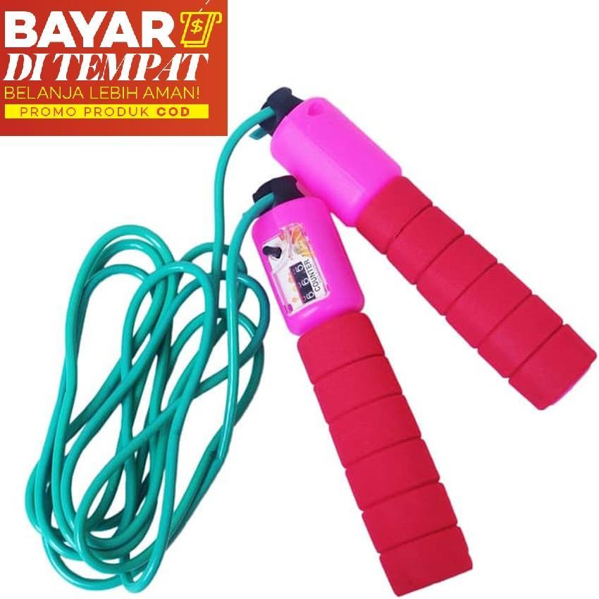 Yangunik Tali Skipping Hitung Otomatis Jump Rope Counter - Merah By Yangunik.