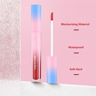 BSG - (COD)Lameila Velvet Lip Glaze Lip Gloss Lipstick Cair Lipstik LaMeiLa Lip Tint - Menori thumbnail