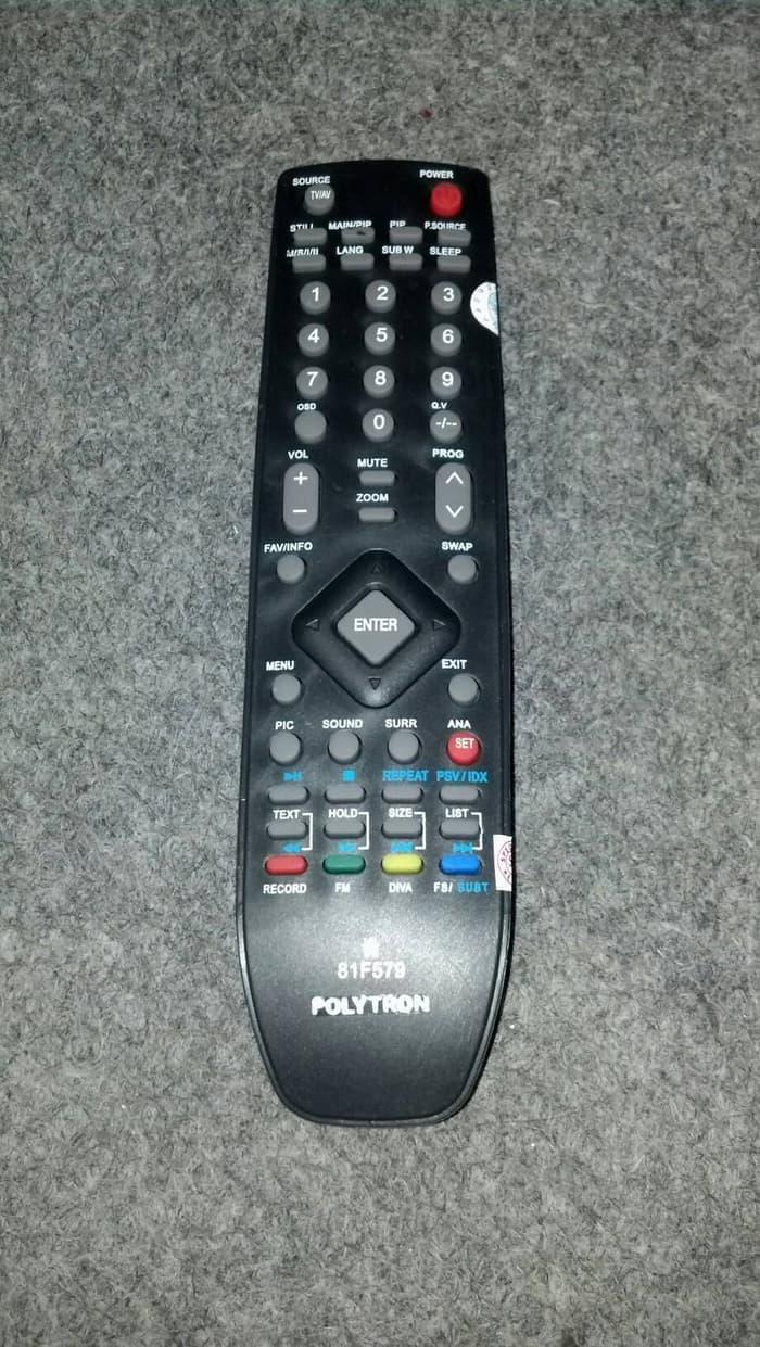 Remot Tv Polytron 81F579 / Remote Tv