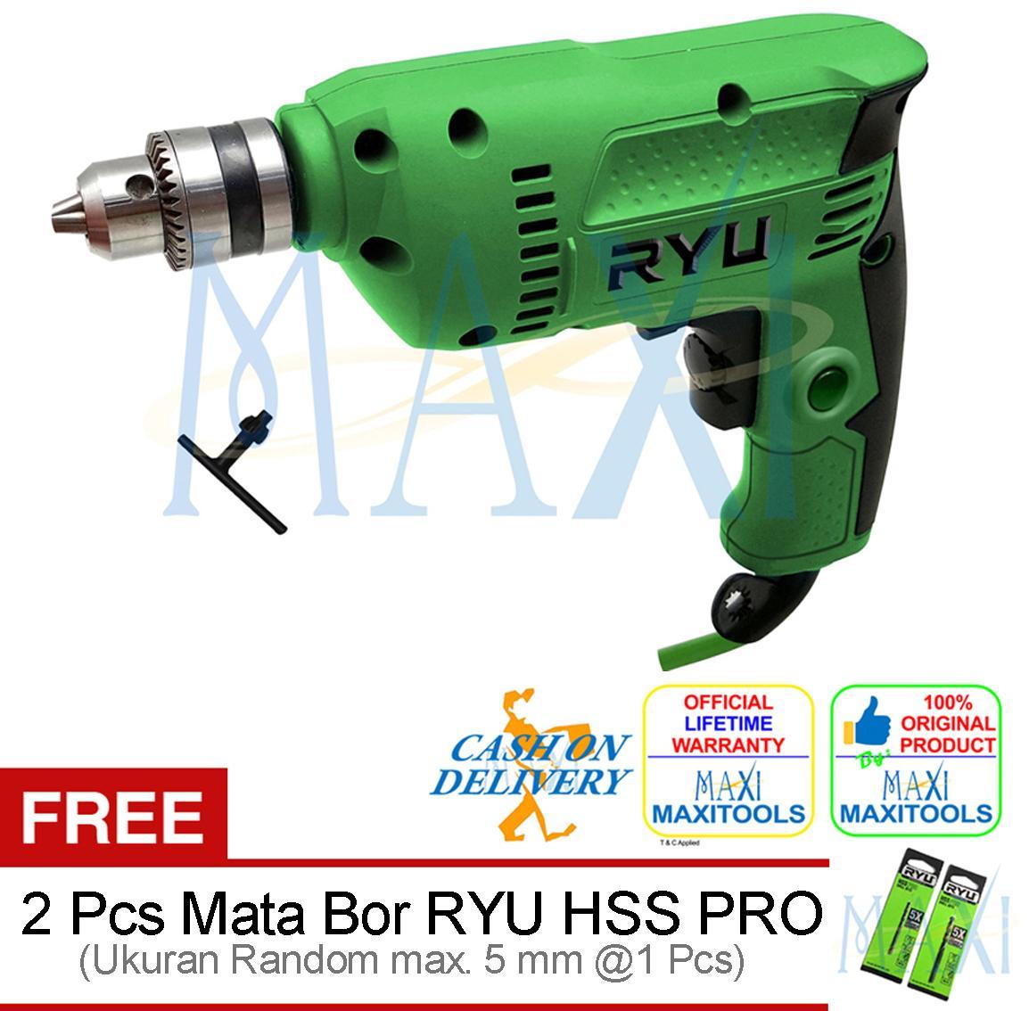 MAXITOOLS - Tekiro Ryu 10 mm Drill Mark III - Bor Variable Speed - Mesin Bor