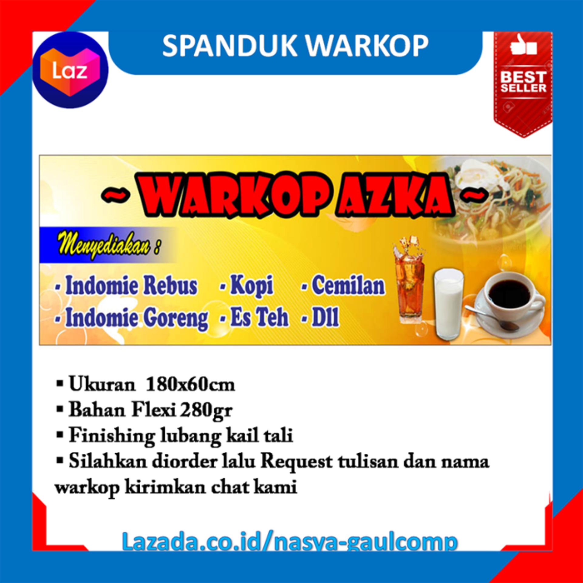 Contoh Gambar Spanduk Warkop - desain spanduk keren