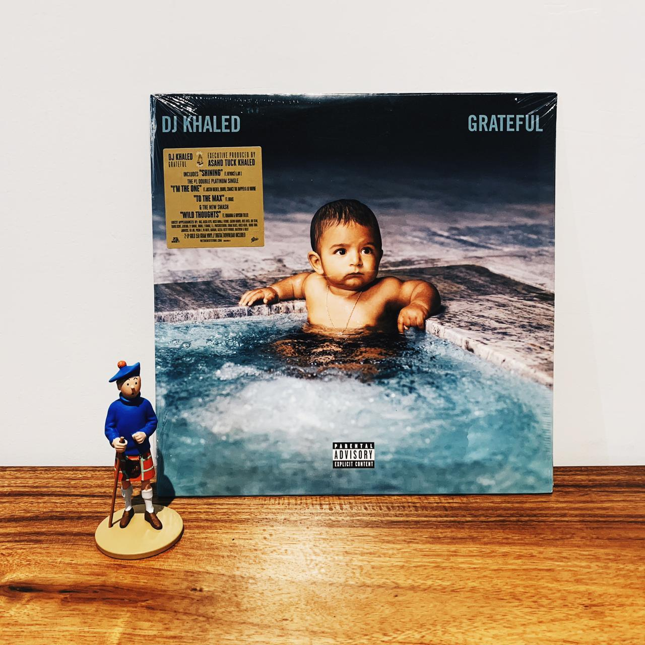 Piringan Hitam / Vinyl / Lp Dj Khaled - Grateful By Playlist Record Store.