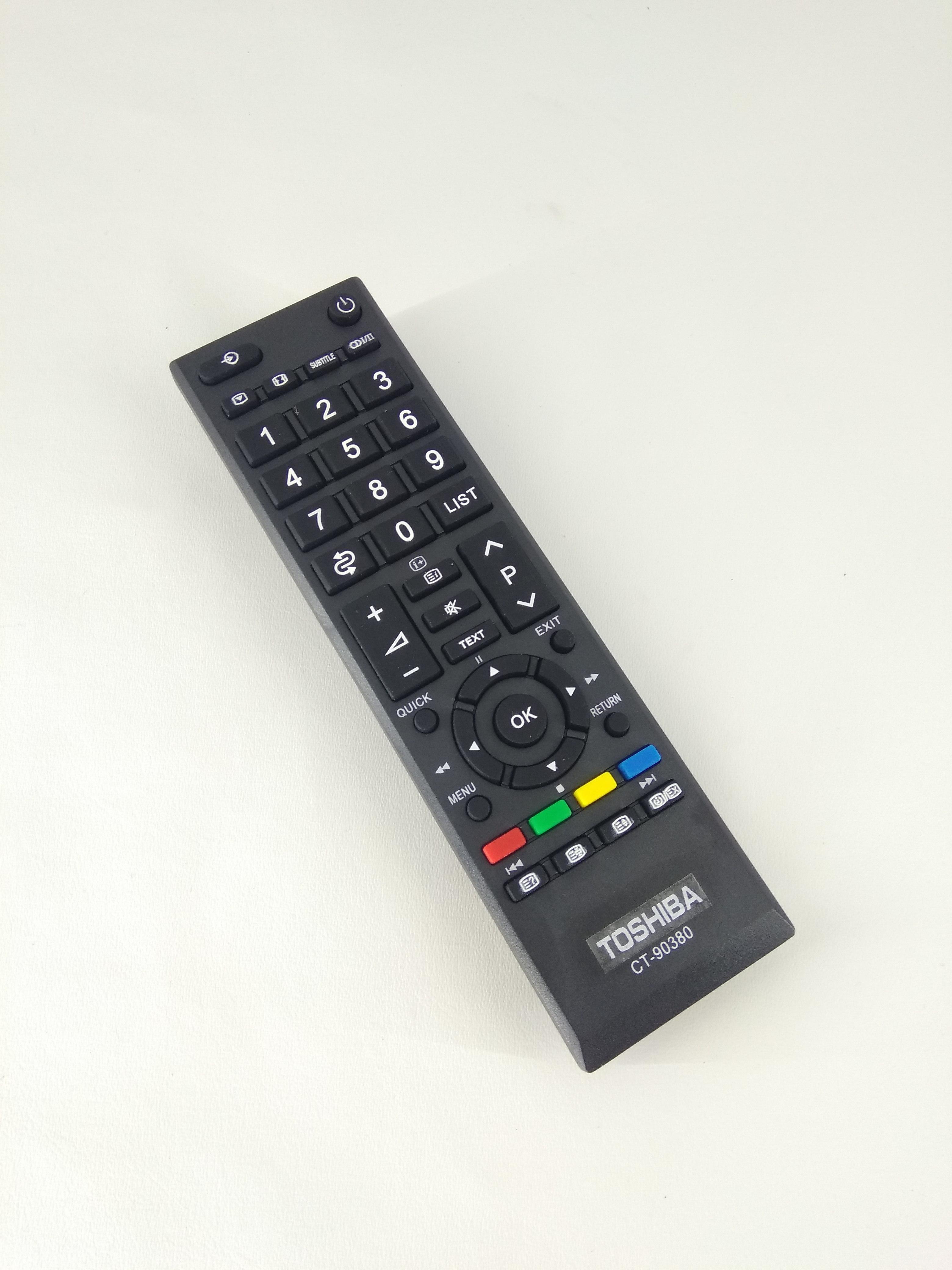 Remot Remote TV Toshiba LCD LED Regza CT-90380 CT-90336 Original Pabrik / KW