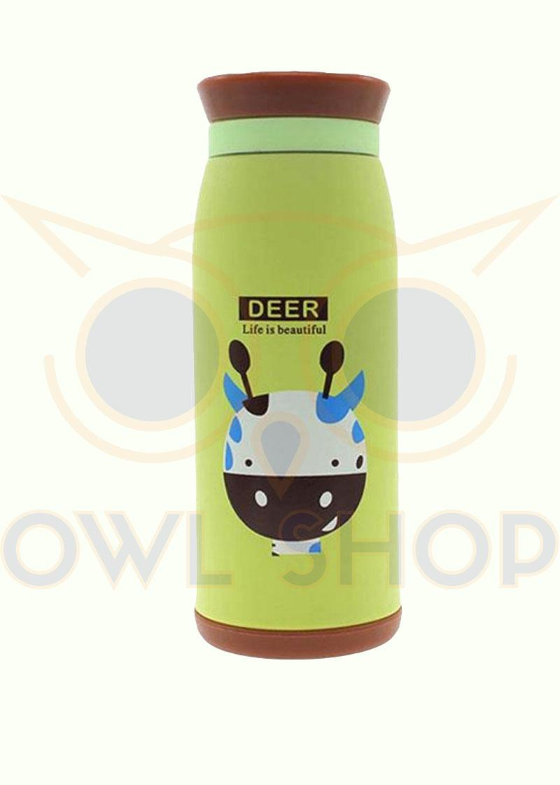 Owl Shop Thumbler Animal Termos Air Animal karakter 500ml Tupperware Botol Minum