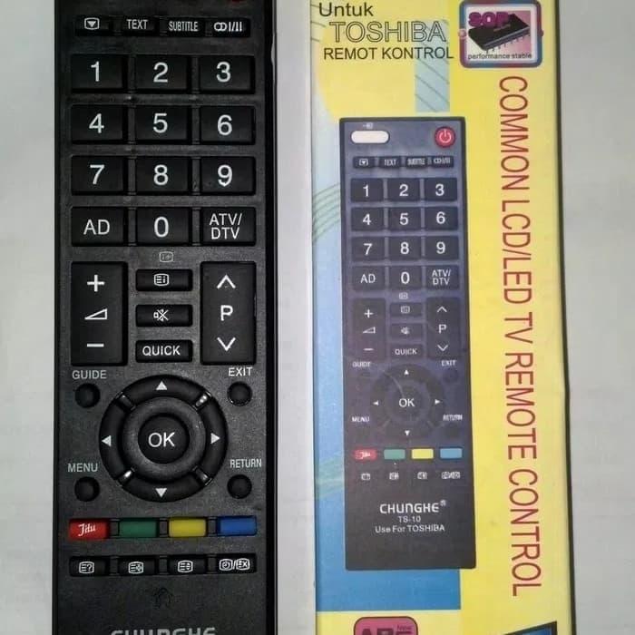 Remot remote toshiba lcd led