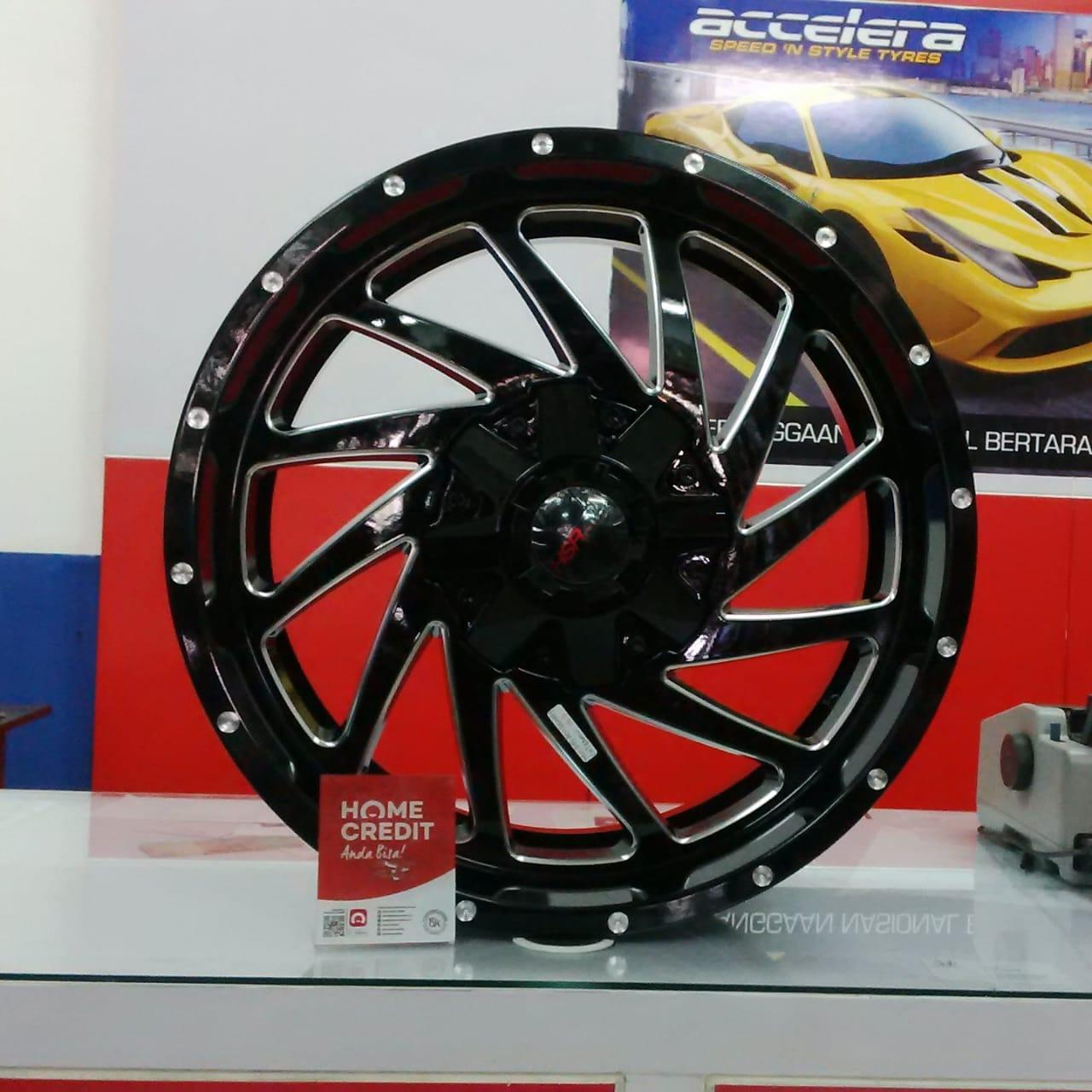 Velg Mobil Racing Offroad Type Maxi Hsr Ring 20 Fortuner Pajero Hillux Dc Ford Ranger DC