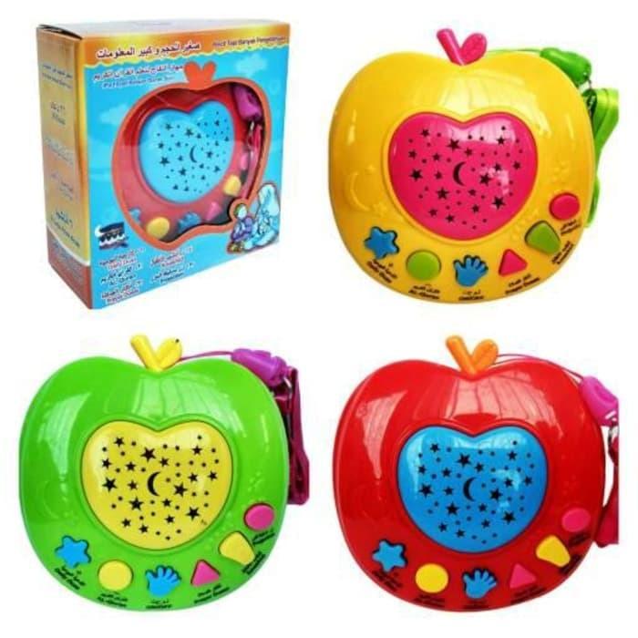 Mainan Anak Muslim Apple Learning Quran + Projector Lamp   Apel Quran ec713b5182