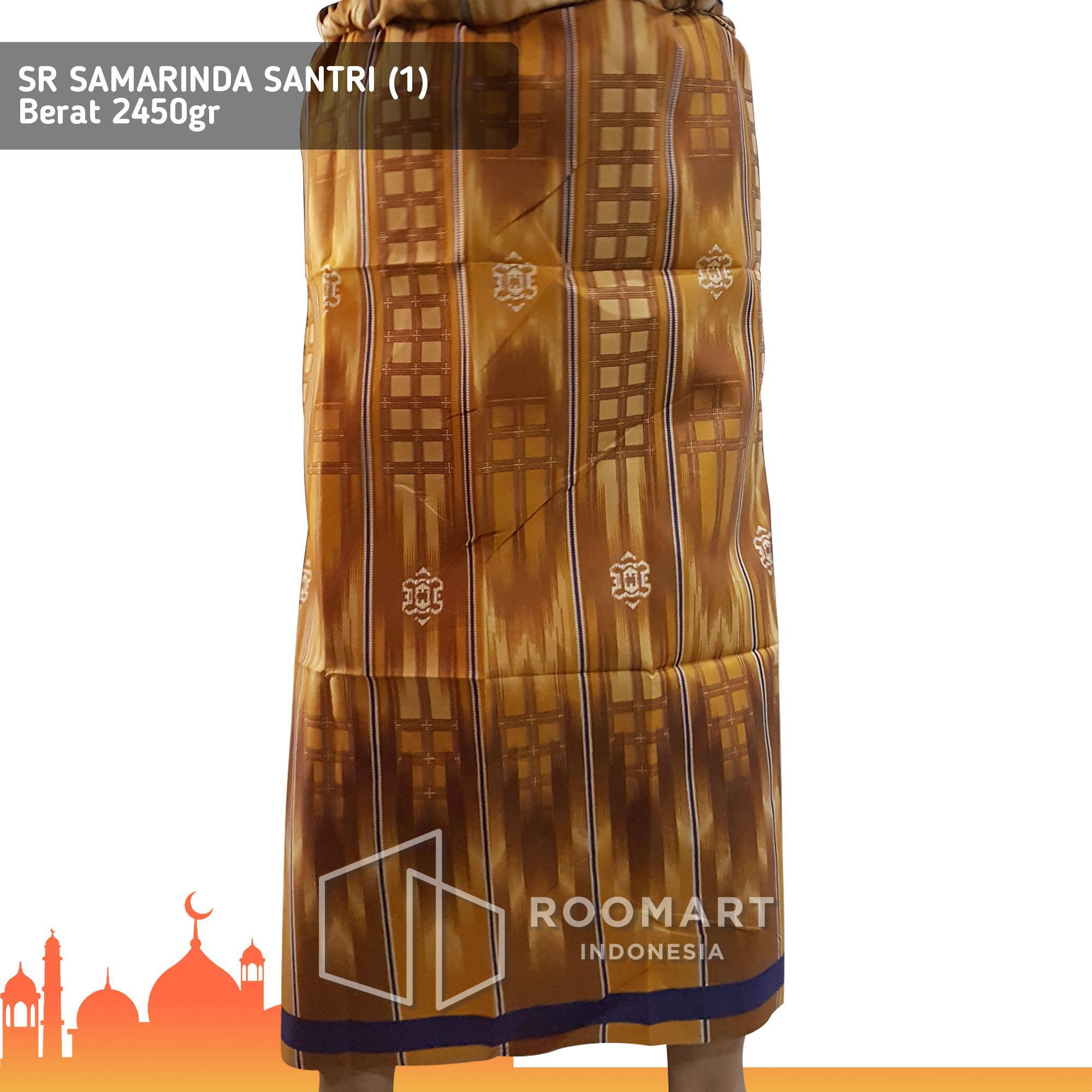Grosir 10pcs - Sarung Samarinda Santri