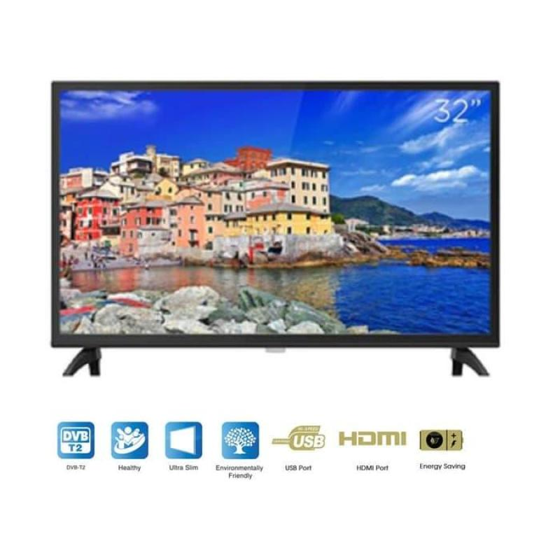 Coocaa LED TV 32 Inch Digital USB HDMI 32W4 - Garansi Resmi