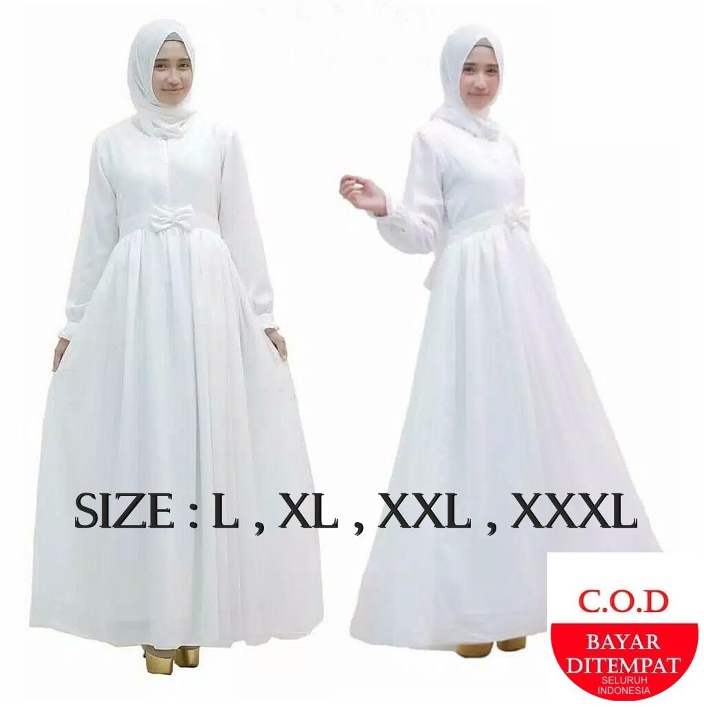 Flh Gamis Putih Modern Gamis Terbaru 2021 Gamis Remaja Modern Dress Wanita Terbaru Baju Gamis Wanita Terbaru Gamis 2021 Gamis Putih Modern Baju Wanita Terbaru Gamis Warna Putih Baju Wanita Gamis Putih