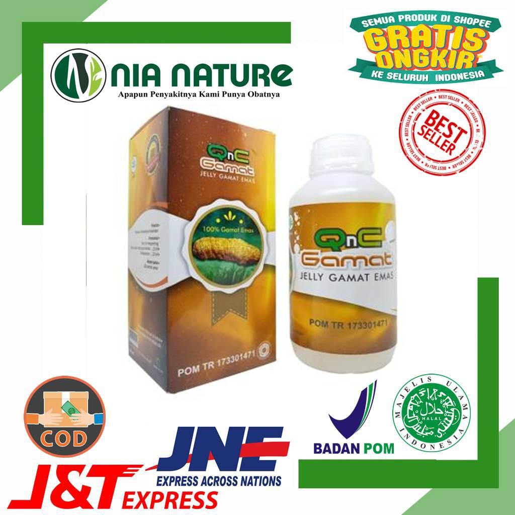 Obat Kurap Di Apotik & Kudis Eksim - Qnc Jelly Gamat  Emas 100% Ampuh & Original