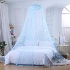 Beli Best Kelambu Kasur Luxury Castle Anti Nyamuk Yg Gantung Di Atas Kasur Tidur Biru Best Asli