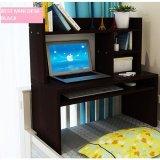 Jual Best Mini Desk Meja Laptop Lesehan Belajar Dan Rak Multifungsi Hitam Import