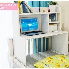 Toko Best Mini Desk Meja Laptop Belajar Dan Rak Sebaguna Putih Lengkap Di Dki Jakarta
