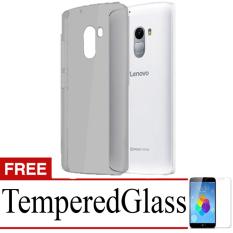 Best Seller Aircase Ultrathin For lenovo k4 note + Free Tempered Glass   - Black Clear