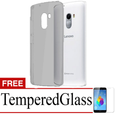 Best Seller Aircase Ultrathin For lenovo k4 note + Free Tempered Glass   -Grey Clear