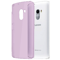 Best Seller Aircase Ultrathin For lenovo k4 note   - Purple Clear