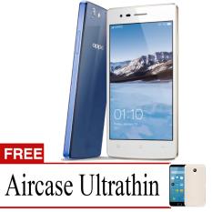 Best Seller Aircase Ultrathin For Oppo Neo 5s + Free Ultrathin   - Blue Clear