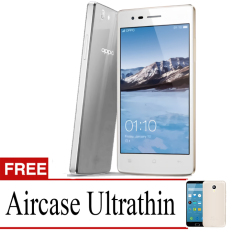 Best Seller Aircase Ultrathin For Oppo Neo 5s + Free Ultrathin   -Grey Clear