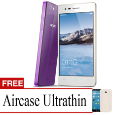 Best Seller Aircase Ultrathin For Oppo Neo 5s + Free Ultrathin   - Purple Clear