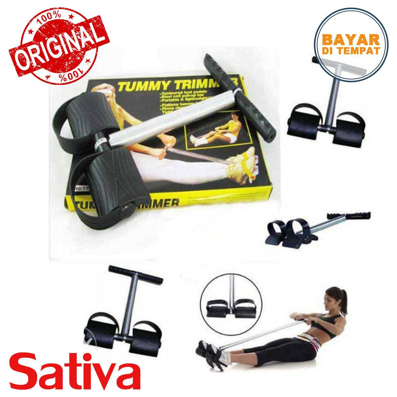 Alat Olah Raga / Alat Fitnes / Tummy Trimmer / Sit Up Gym By Sativa Perkakas Alat Dan Audio.