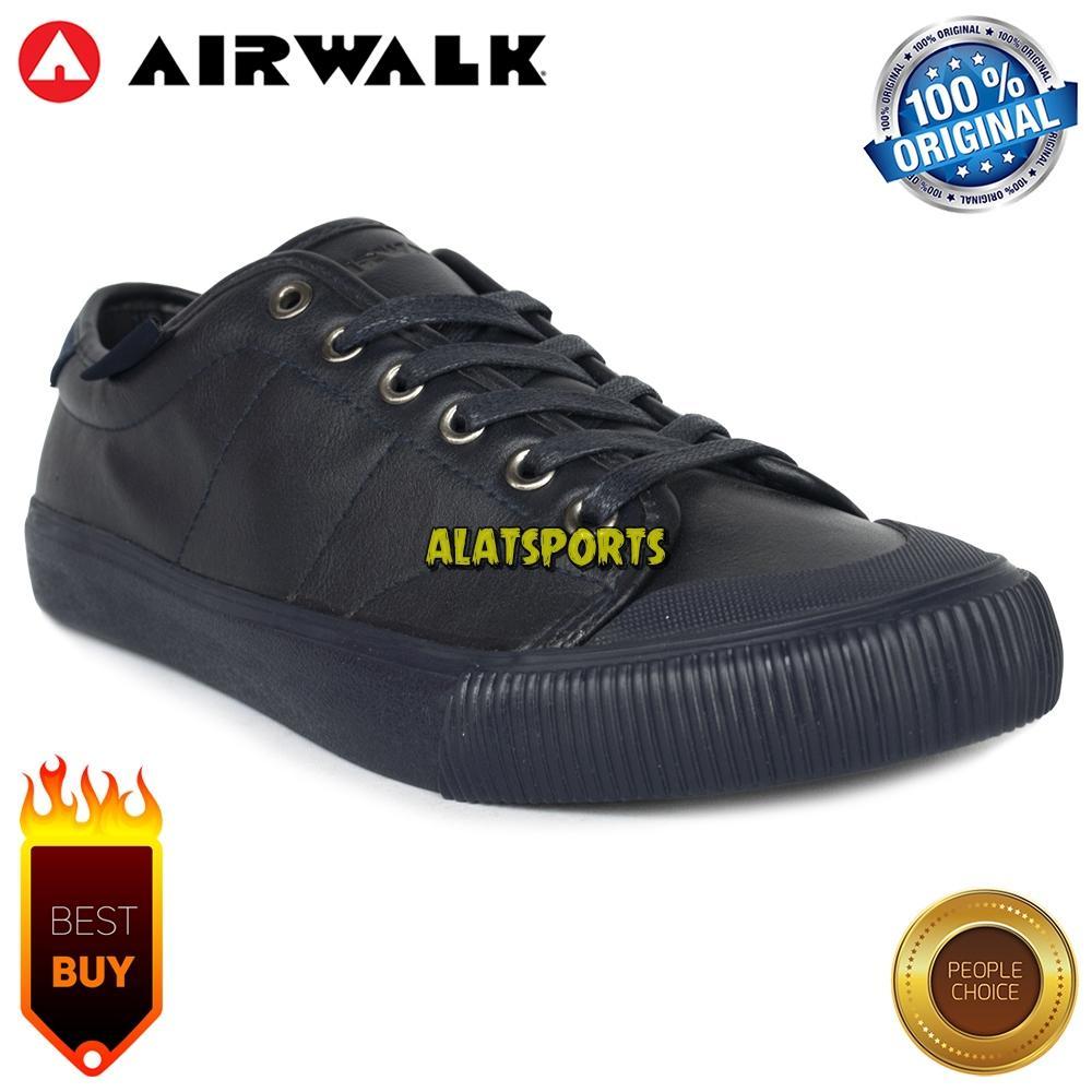 Sepatu Sneaker Pria Airwalk Eclipse S AIWX80503NV - Navy - ORIGINAL
