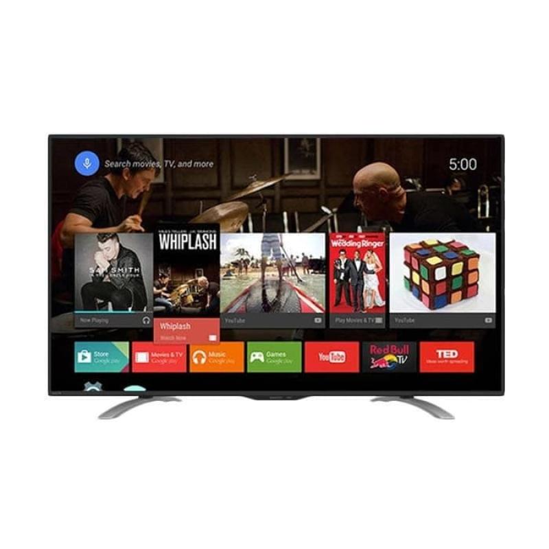 Promo Terakhir - SHARP LC50LE580X FHD ANDROID TV [50 Inch] GRATIS