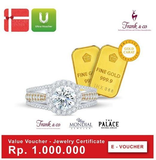 Frank & Co- Jewelry Certificate Digital Voucher By I-Voucher Center.