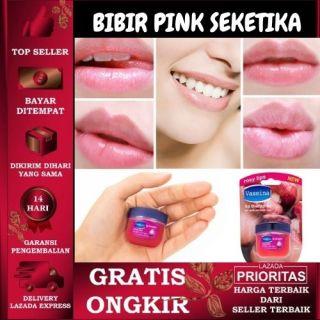 PELEMBAB BIBIR VASELINE ROSY LIPS BIBIR PINK LIPS BALM thumbnail