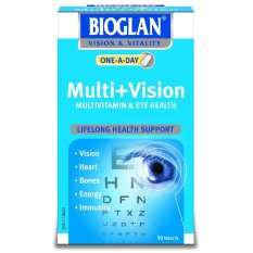 Harga Bioglan One A Day Multi Vision 50 Tablets Multivitamin Kesehatan Mata New