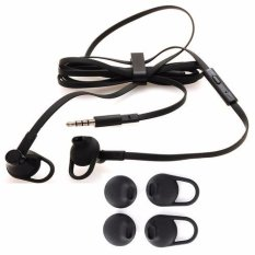 Blackberry Handsfree Headset Q5,Q10,Z10,Z30 Stereo Original Seri BB10 - Hitam